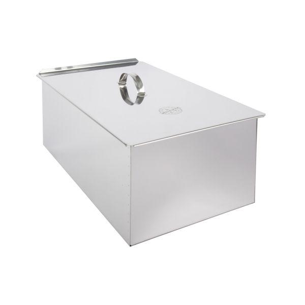 Muurikka Räucherbox aus Edelstahl für Feuerstellen