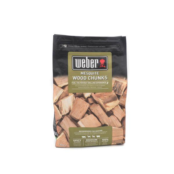 Weber Wood Chunks Mesquite, 1,5kg (17620)