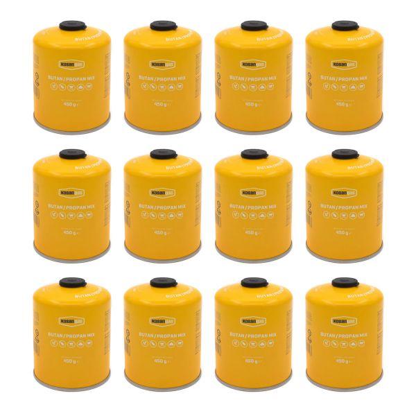 12x Gas-Kartusche für Q100/1000-Serien, Performer & Go Anywhere