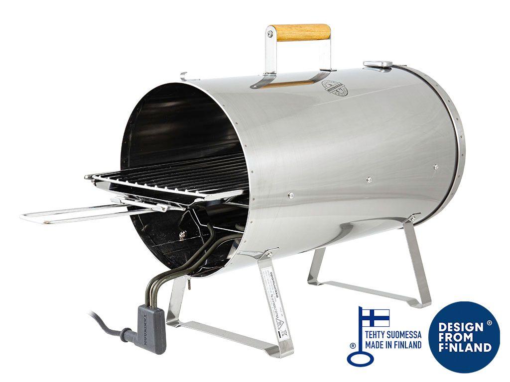 Muurikka elektrischer Räucherofen klein Modell 2020 mit Thermometer 54410020