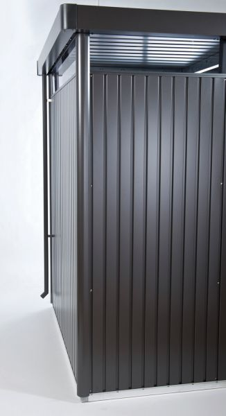 Biohort Regenfallrohr-Set für Gerätehaus HighLine, 2 Stk.