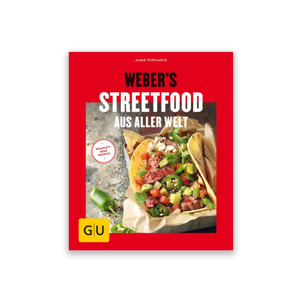 Grillbuch Weber's Streetfood 978-3-8338-6536-7