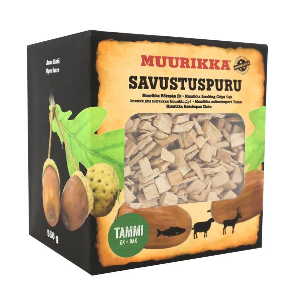 Muurikka Räucherchips Eiche, 550g