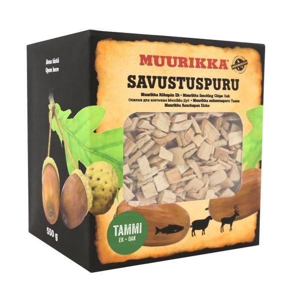 Muurikka Räucherchips Eiche, 550g
