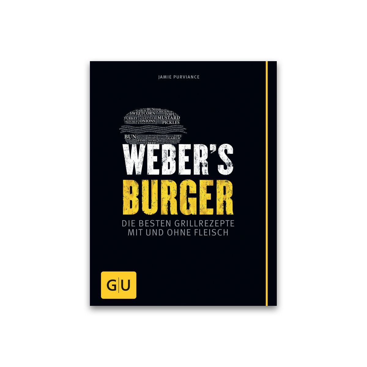 Grillbuch Weber's Burger 978-3-8338-3335-9