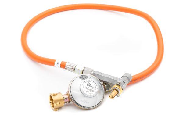 Weber Ersatzteil Gasschlauch mit Regler und Ventil 50 mBar für Q200/Q2000 & Q220/Q2200