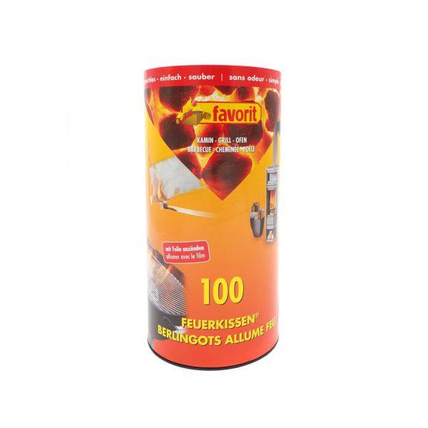 Favorit Feuerkissen in der Dose, 100 Stück