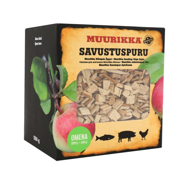 Muurikka Räucherchips Apfel, 550g