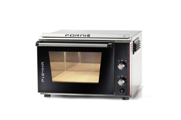 EFFEUNO P134HA Elektro Pizzaofen, inkl. Biscotto-Pizzastein - Modell 2021