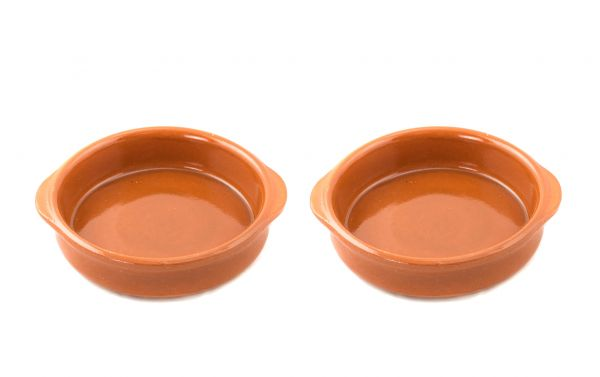 2x Mediterrane Keramikschalen »Piataci« 18cm Ø
