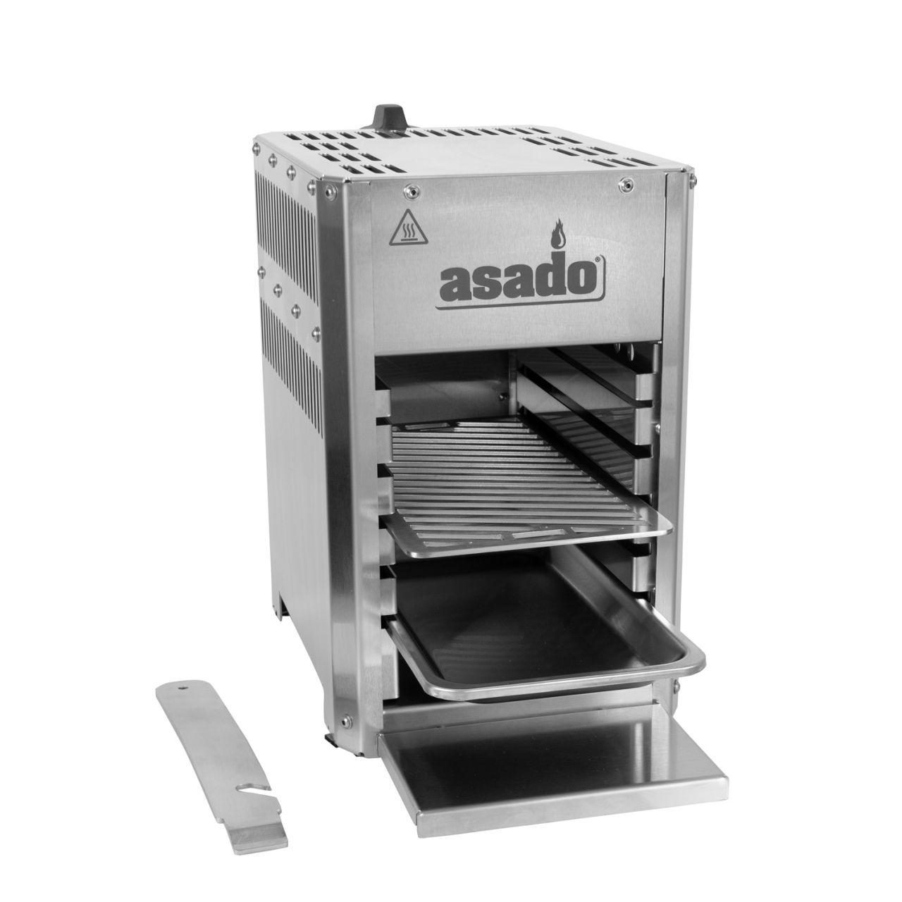 Asado 800 compact Oberhitze Gasgrill 105592