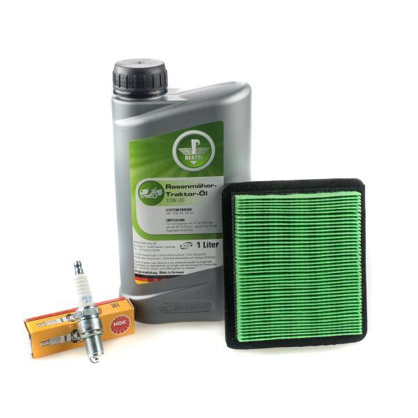 Wartungs-Set für Honda GCV Rasenmäher. Öl, Luftfilter & Zündkerze