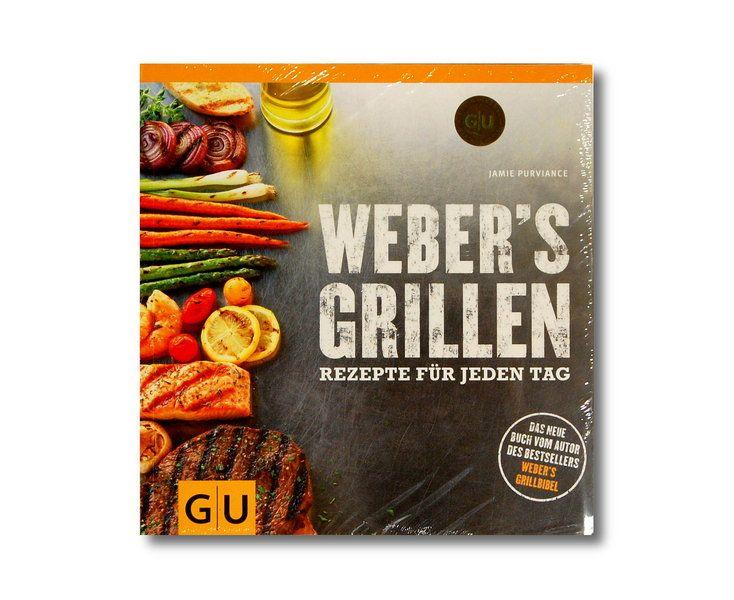 Grillbuch Weber's Grillen Rezepte für jeden Tag 978-3-8338-2637-5