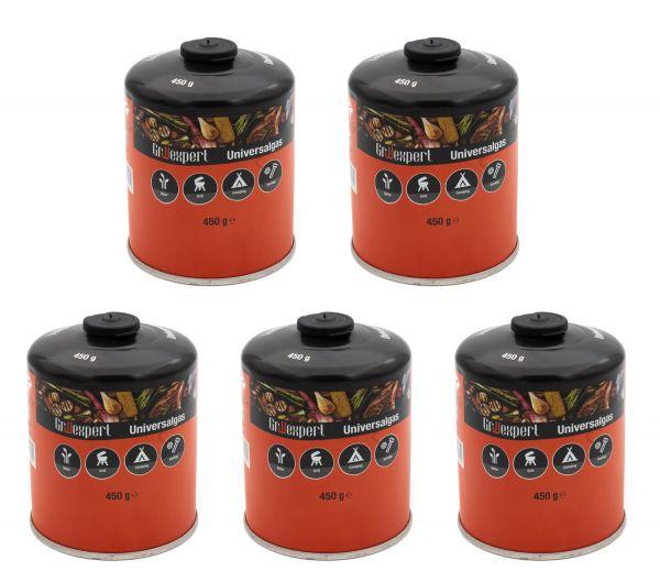 Gas-Kartusche 5er-Pack für Q100/1000-Serien, Performer & Go Anywhere