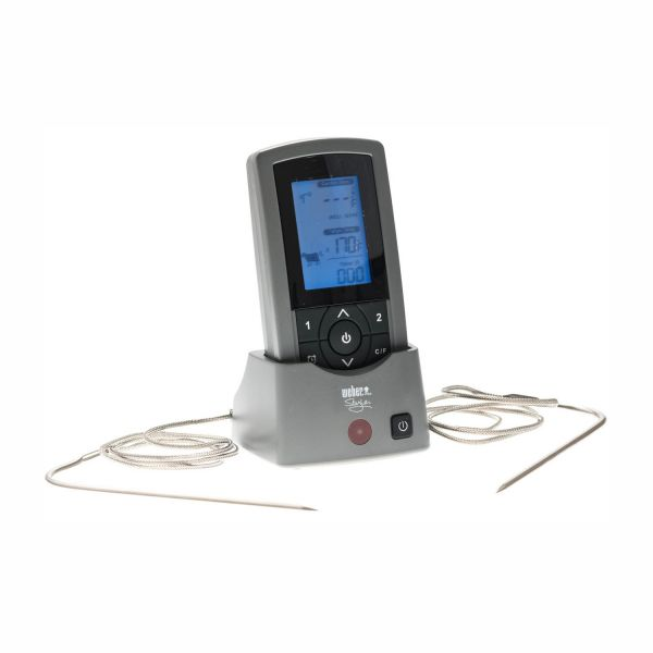 Weber Style Digital Funkthermometer mit 2 Fühlern, Weber 6741