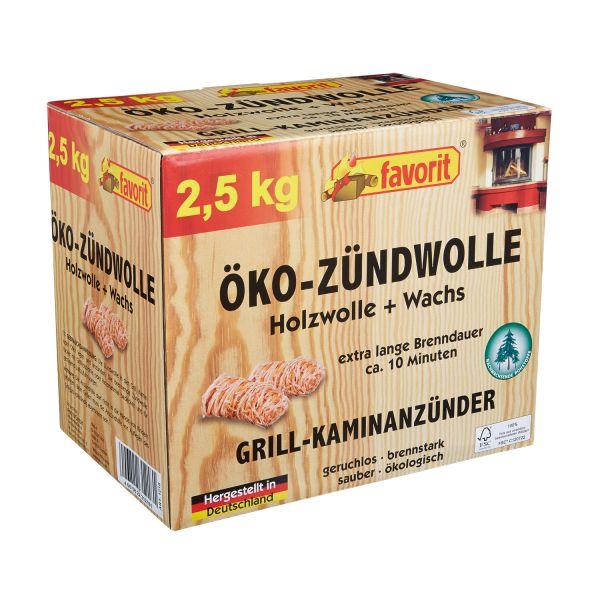 Favorit Öko-Zündwolle 2,5 kg