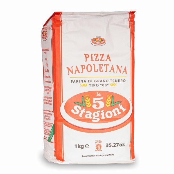 Le 5 Stagioni Napoletana Pizzamehl Typ 00, 1kg