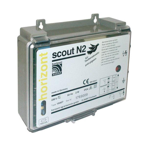 horizont scout N2 Taube Elektrozaungerät für Tauben