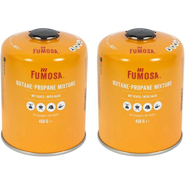 FUMOSA Gaskartuschen Set für Q100/1000-Serien, Performer & Go Anywhere, 450g