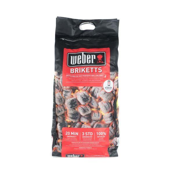 Weber 17591 Briketts (8 kg)