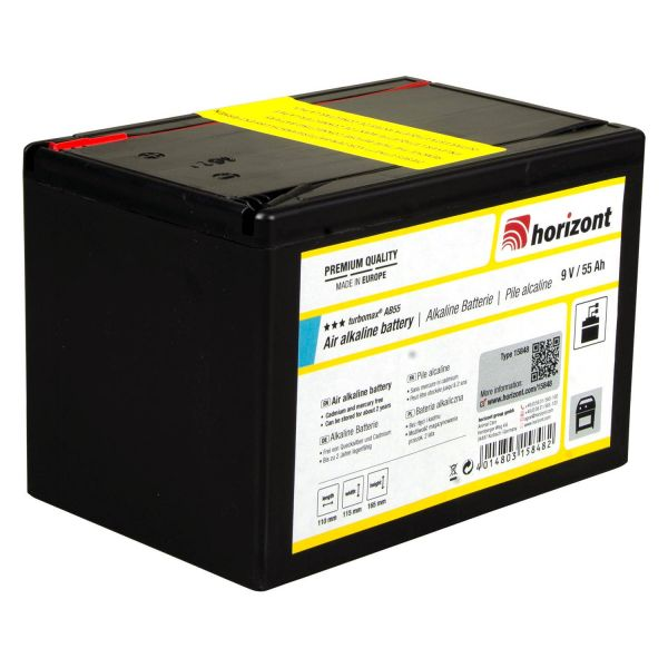 horizont TURBOMAX AB 9 V Trockenbatterie