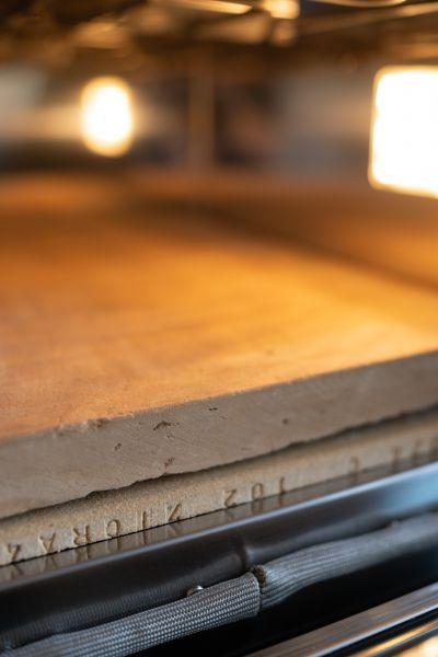 EFFEUNO Biscotto-Pizzastein (35 x 40 cm)