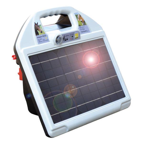 horizont trapper AS35 Weidezaungerät, inkl. Akku & Solarpanel