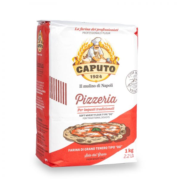 Caputo Pizzeria Tradizionale Pizzamehl Typ 00, 1kg