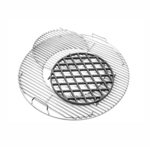 Weber Gourmet BBQ System - Sear Grate Set inkl. Edelstahl Grillrost
