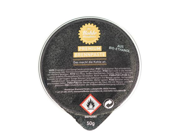 Brennpaste für Premium Grillbriketts (50g)