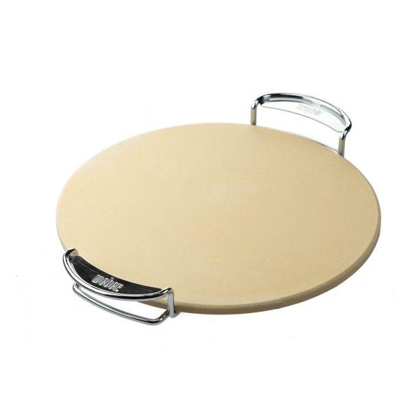 weber 8836 pizzastein mit gestell gourmet bbq system pizzazubeh r grillzubeh r grillen. Black Bedroom Furniture Sets. Home Design Ideas