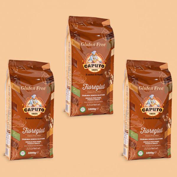 Caputo Fioreglut glutenfreies Mehl Spar-Set