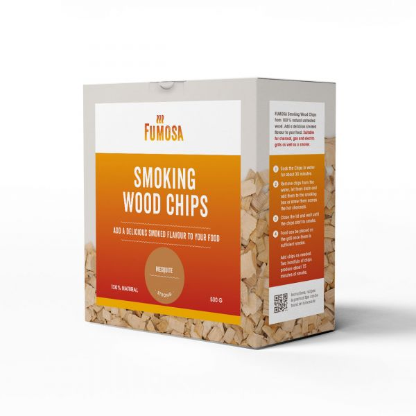 FUMOSA Räucherchips Mesquite, 500g