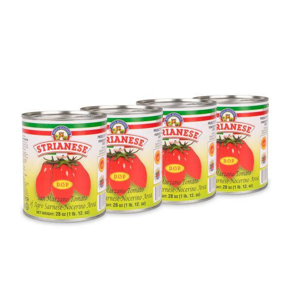 Strianese San Marzano Tomaten Spar-Set (4x 800g)