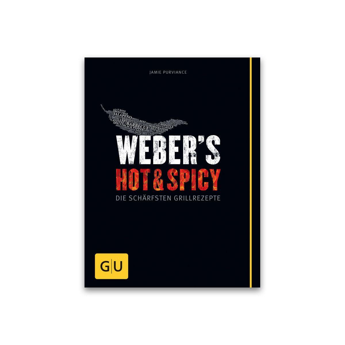 Grillbuch Weber's Hot & Spicy 978-3-8338-3784-5