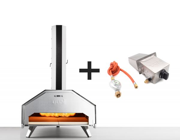 Ooni Pro Pizzaofen - Set mit Gasbrenner