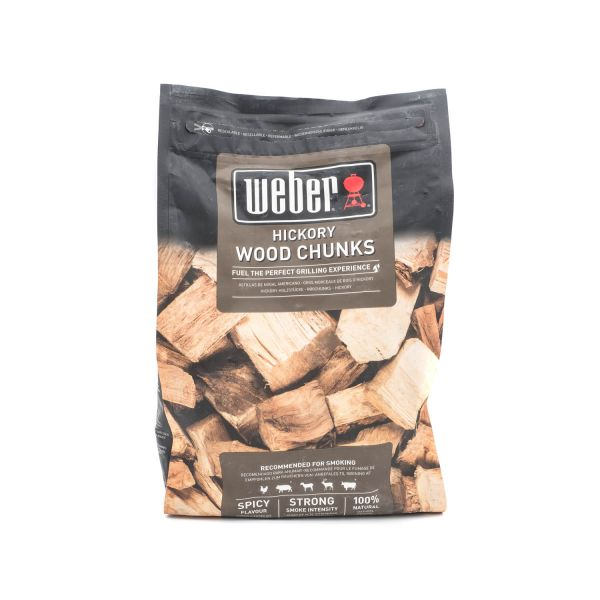 Weber Wood Chunks Hickory, 1,5kg (17619)