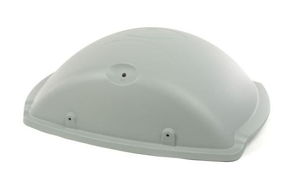 Weber Ersatzteil Deckel für Gasgrill Q3000 & Q3200, Farbe: granite grey (Q300 / Q320 mit Einschränku
