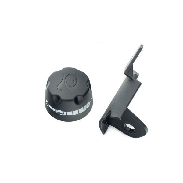 Weber Ersatzteil Kontrollknopf mit Halterung für Q100/1000 und Q120/1200
