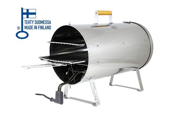 Muurikka elektrischer Räucherofen gross (28cm Ø) - Modell mit Thermometer