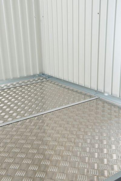 Biohort Alu-Bodenplatte für Gerätehaus Europa