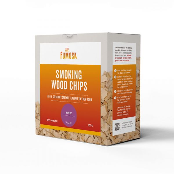 FUMOSA Räucherchips Hickory, 500g