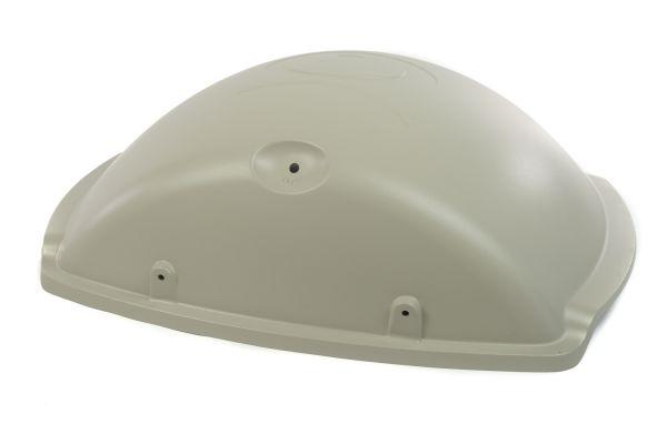 Weber Ersatzteil Deckel für Gasgrill Q3000 & Q3200 Farbe: titanium (Q300 / Q320 mit Einschränkungen)