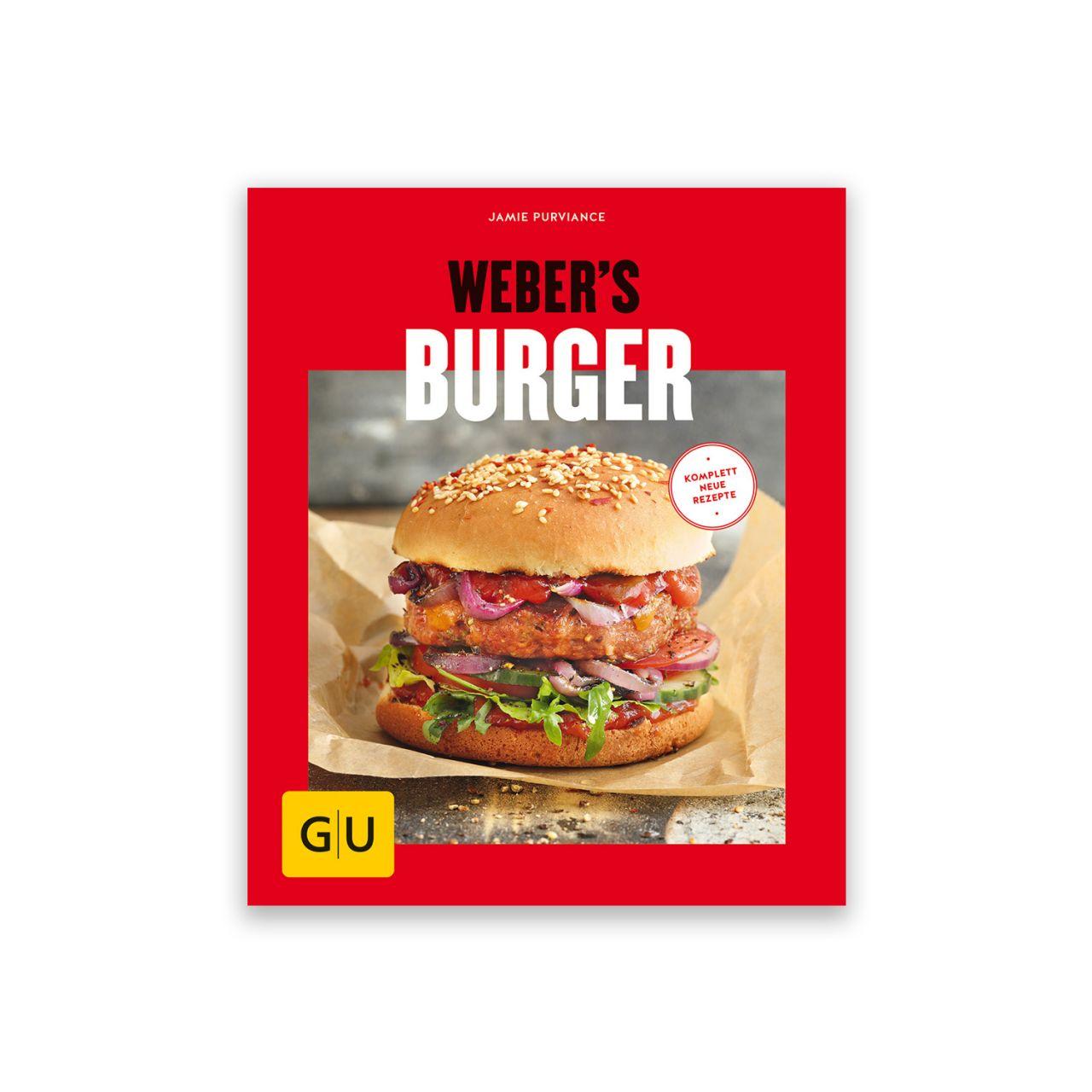 Grillbuch Weber's Burger 978-3-8338-6537-4