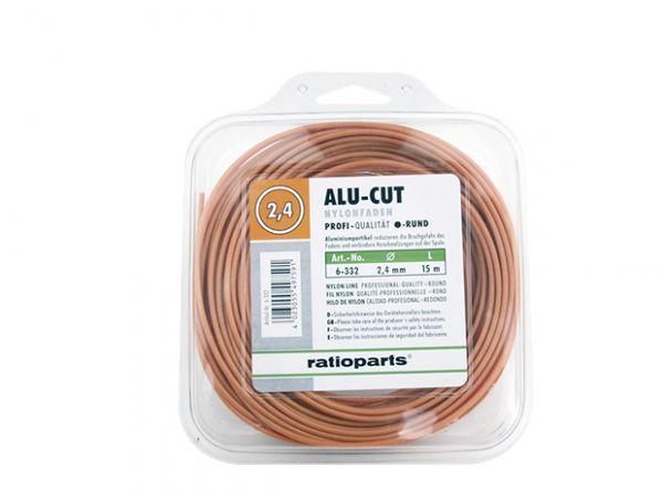Ratioparts Nylonfaden, rund, AluCut, 2,4mm, 15m (6-332)