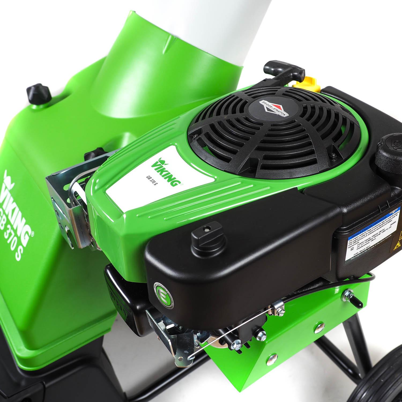 viking benzin-häcksler gb 370 s, gartenhäcksler, asthäcksler | ebay