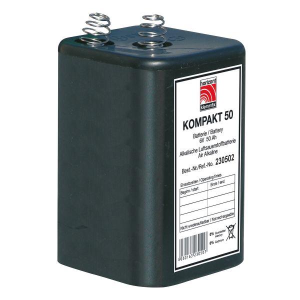 horizont 6 V Blockbatterie