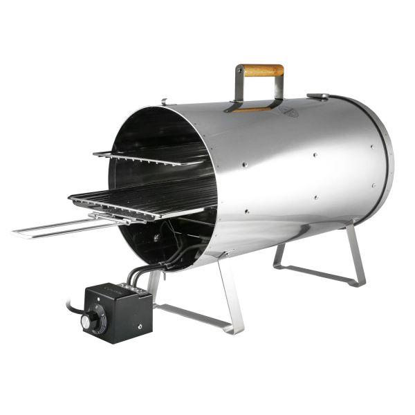 Versandrückläufer: Muurikka elektrischer Räucherofen Pro, 1200 W, 28 cm Ø | Smoker