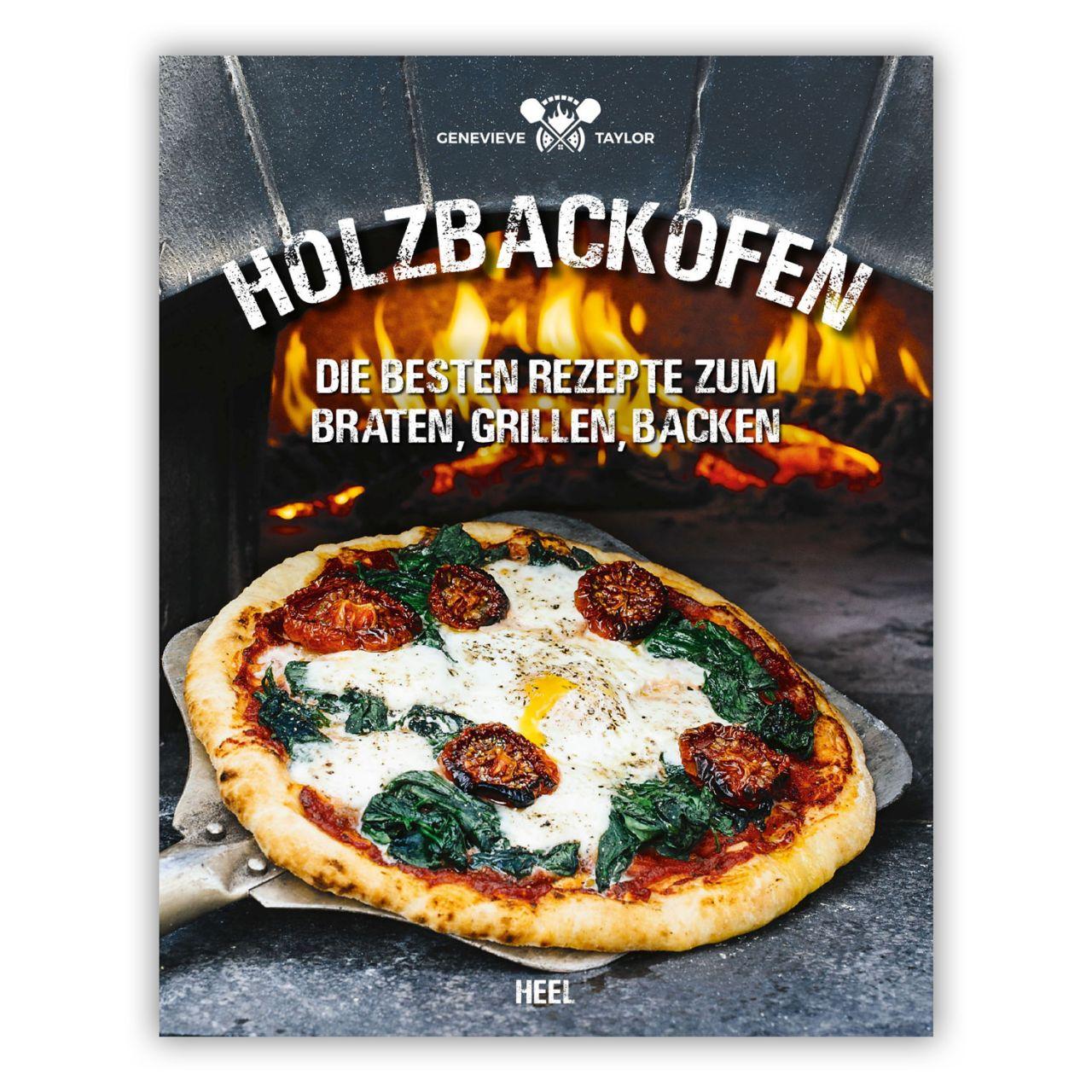 Heel Verlag Kochbuch Holzbackofen Die besten Rezepte zum Braten Grillen Backen 978-3-95843-809-5