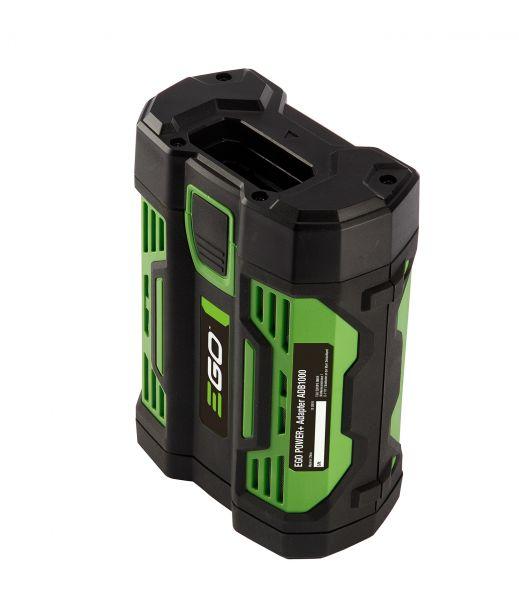 EGO ADB1000 Adapter für BAX1300 + BAX1500 zum Anschluss von Handgeräten mit Akku-Einschubfach